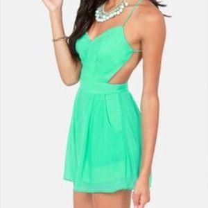 Dresses & Skirts - Mint backless romper