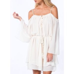 NEW Bohemian Off The Shoulder Dress