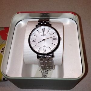 Jacqueline 3-hand Stainless Steel Watch