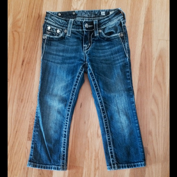 63% off Miss Me Denim - GIRLS MISS ME DENIM CAPRIS SIZE 10 from ...