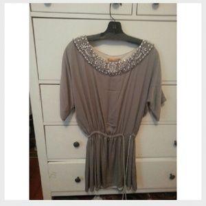 🚫SOLD🚫Alice & Olivia beaded dress/tunic