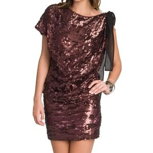 New Robert Rodriguez sequin cocktail dress