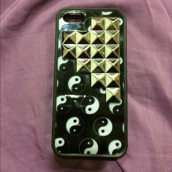 low priced 01cd7 96f26 ☯ Yin Yang Wildflower Case for Iphone 5/5s ☯