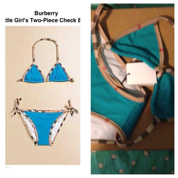 Bikini burberry girl
