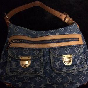 I have a genuine denim handbags for sale.