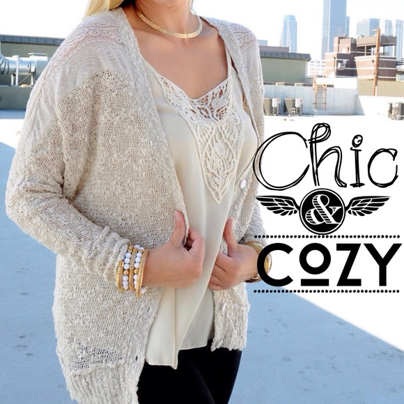 78% off Sweaters - ⭐️LAST ONE⭐️Plus size Cream colored ...