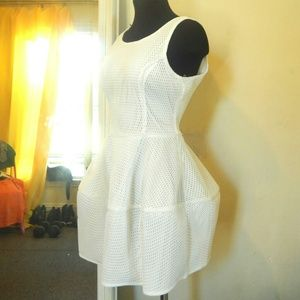 Dresses & Skirts - White Faux Tiered Dress