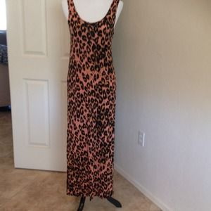 Mink Pink Leopard Max Tank Dress