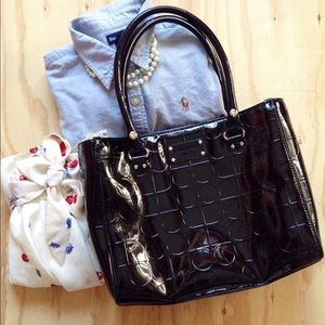 {Kate Spade} Patent Leather Bag