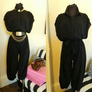 Pants - Medium Blk Jumpsuit