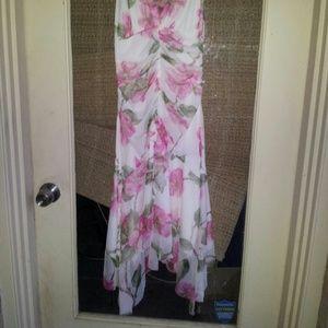 0 Dresses - FLASH SALE! NWOT Asymmetrical Rouched Halter Dress