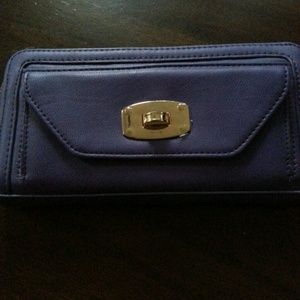MARK by AVON Clutches & Wallets - Purple Color Block Wallet