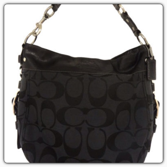 78 off coach handbags coach signature zoe large