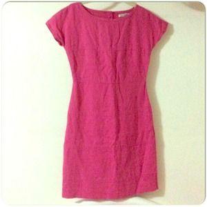 ⚡️Banana Republic Pink Linen Dress
