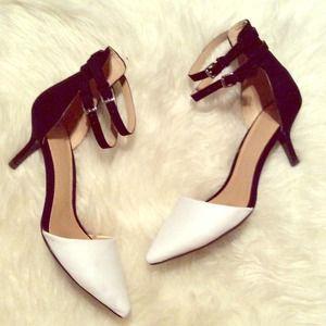 Ankle Strap Kitten Heels
