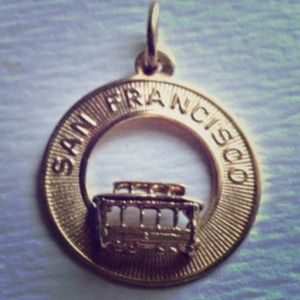Poshmark Jewelry - 14 Carat Gold San Francisco Cable Car Charm