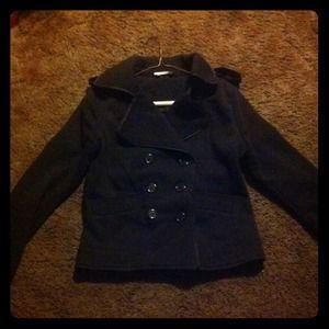 Jackets & Blazers - Brown pea coat