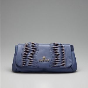 Gustto Handbags - Gustto Blue Clutch