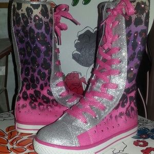 justice Shoes - NWOT JUSTICE BOOTS Girls sz 3