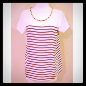 HOST PICKAnthropologie Crystal Striped Top