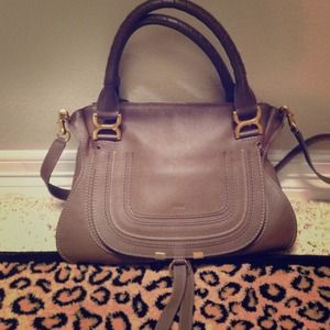 chloe marcie medium handbag like new chloe bay bag