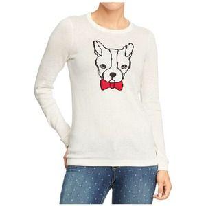 Graphic Crew Neck Sweater
