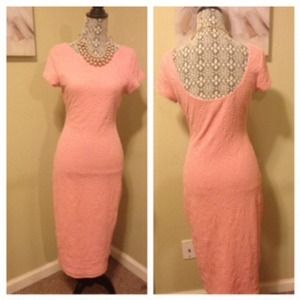 FINAL PRICE REDUCTION!! Vintage lace print dress