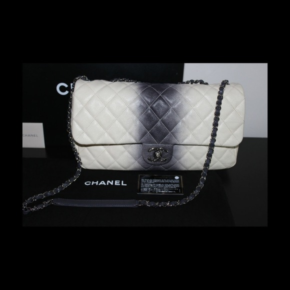 851d6b74114edf CHANEL Bags | Sold Ebay Cc Logo Ombre Flapbag | Poshmark