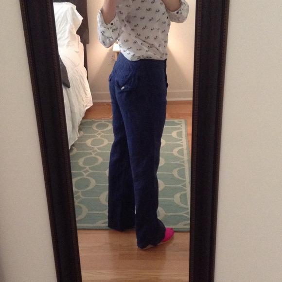 Cute Linen Pants Pi Pants