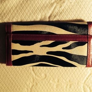 Clutches & Wallets - ZEBRA WALLET