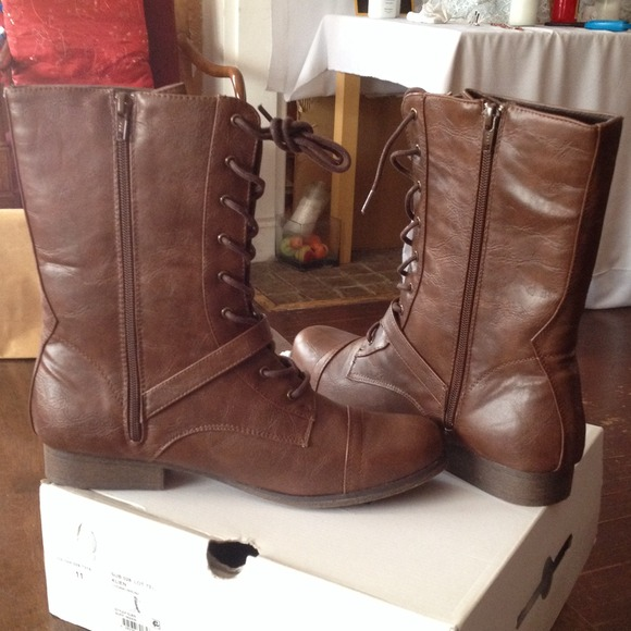 50% off Call It Spring Boots - Brand new combat boots size 11 from ...