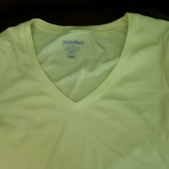 82% off Old Navy Tops - Bright yellow long sleeve shirt from ...