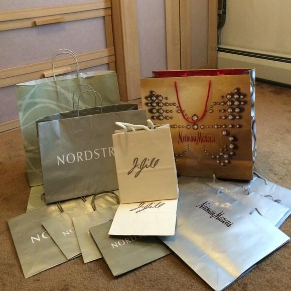 Shopping Bags Nordstrom Neiman Marcus JJill