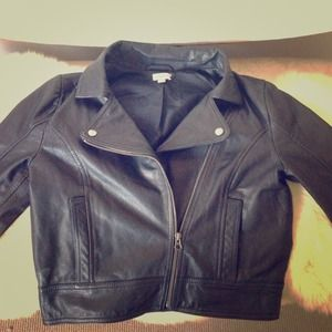 Frenchi brand 100% leather shell jacket.