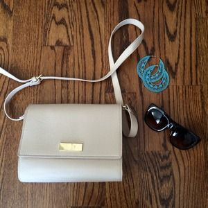 Forever 21 Handbags - Blush Faux Leather Shoulder Bag