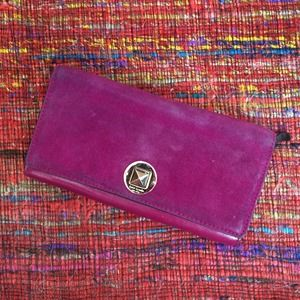 kate spade Clutches & Wallets - Kate Spade Suede + Leather Wallet