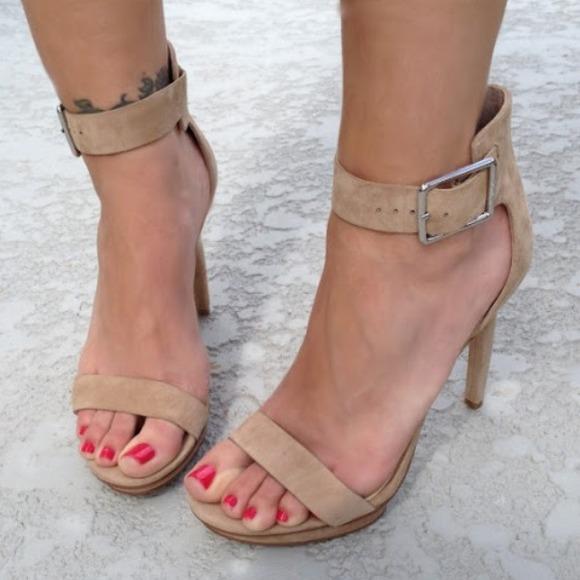 2d711a207665 Calvin Klein Shoes - Calvin Klein Vivian Heels Sandals