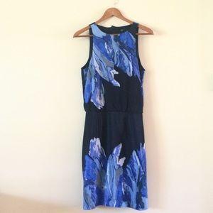 Tibi | Blue Petals Easy Dress