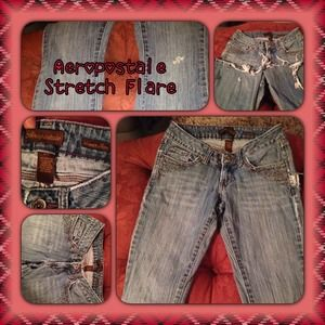 Aeropostale Stretch Flare jeans