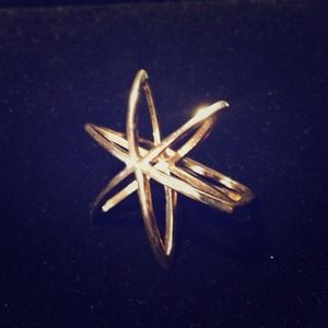 Low Luv x Erin Wasson Jewelry - LOW LUV_ Cosmos Double Finger Ring