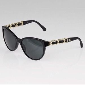 ISO Gold Chain Chanel Sunglasses