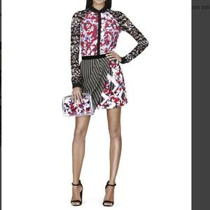 Peter Pilotto Skirt in Red Floral