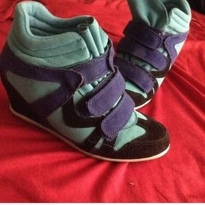 Shoes - Wedges sneakers