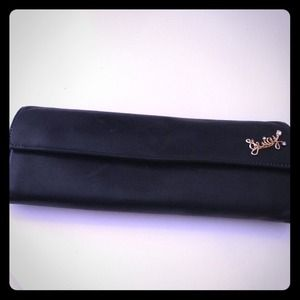 Black leather juicy wallet! Fits everything!