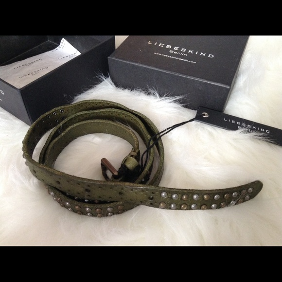 Anthropologie Accessories - Anthropologie Liebeskind Berlin vegeta belt