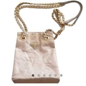 Prada Handbags - Prada chain Bucket pouch bag