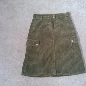 Benetton Other - 🎉REDUCED!! Green Benetton corduroy skirt