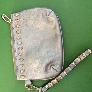 Skull clutch/wallet