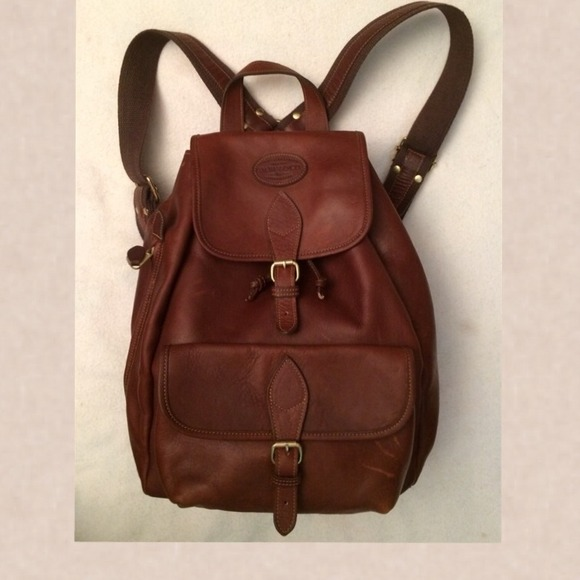 Bass - BASS GENUINE LEATHER BACKPACK from Georgiana's closet on ...