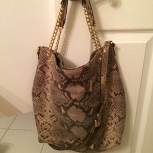 11c762d6e1a1 Michael Kors Bags - Michael Kors snakeskin bag